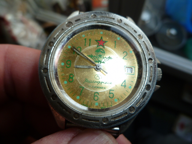 Vostok Komandirski 17 Jewels Wojskowy Desant