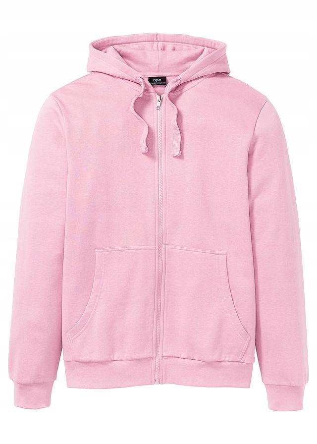 Bluza rozpinana z kaptur różowy 44/46 (S) 959401