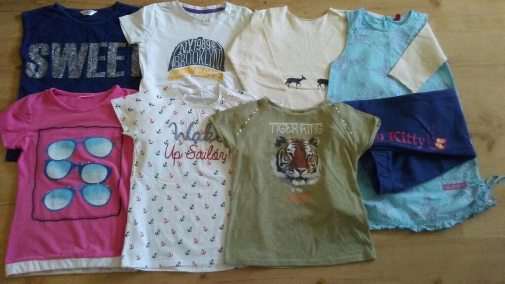 9db63b5c9d9d31 paka ubrań 122 128 zestaw ubranek dla dziewczynki - 7346954019 ...