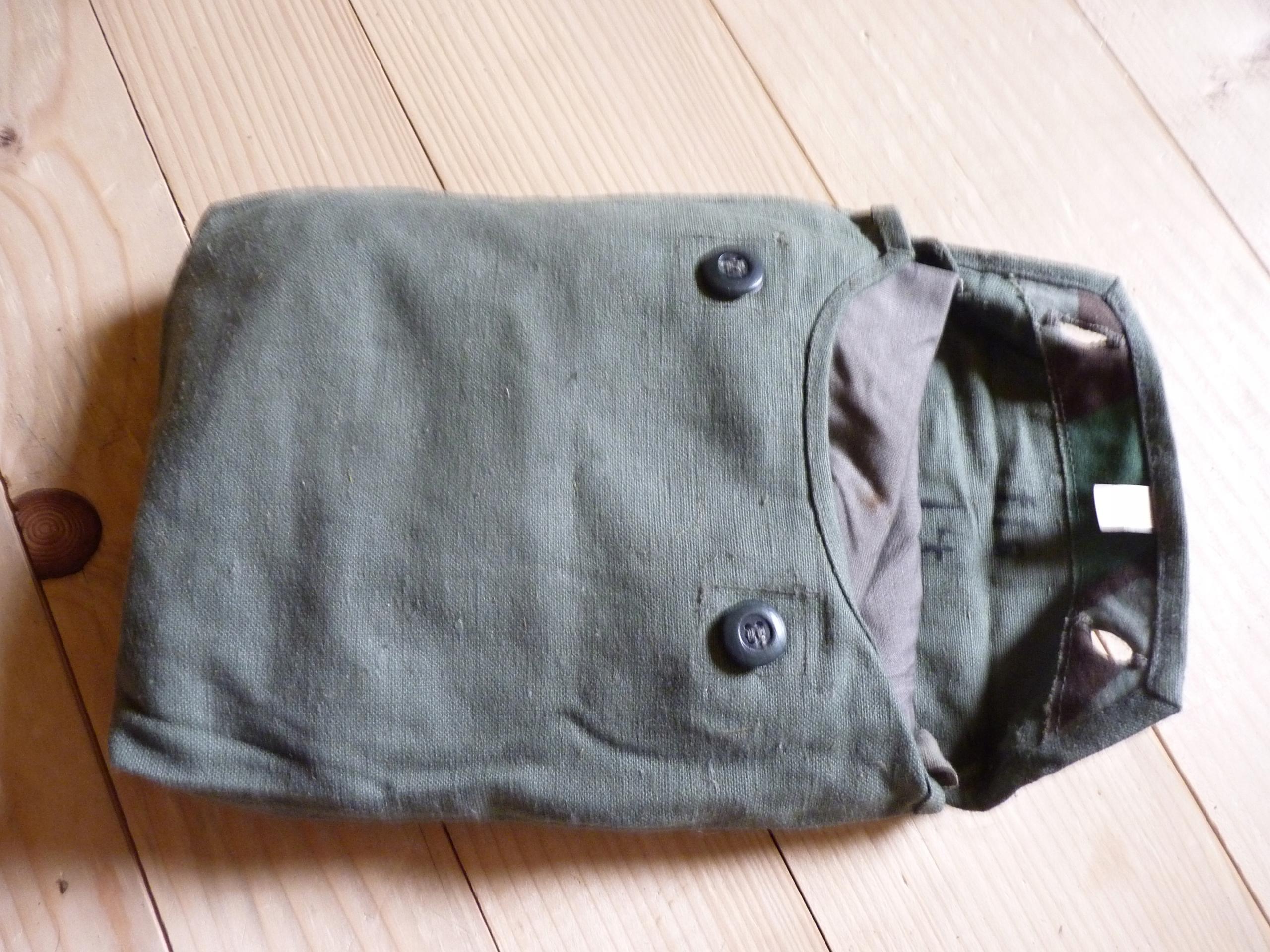 Niemiecka torba na narzute przeciwiperytowa + coś