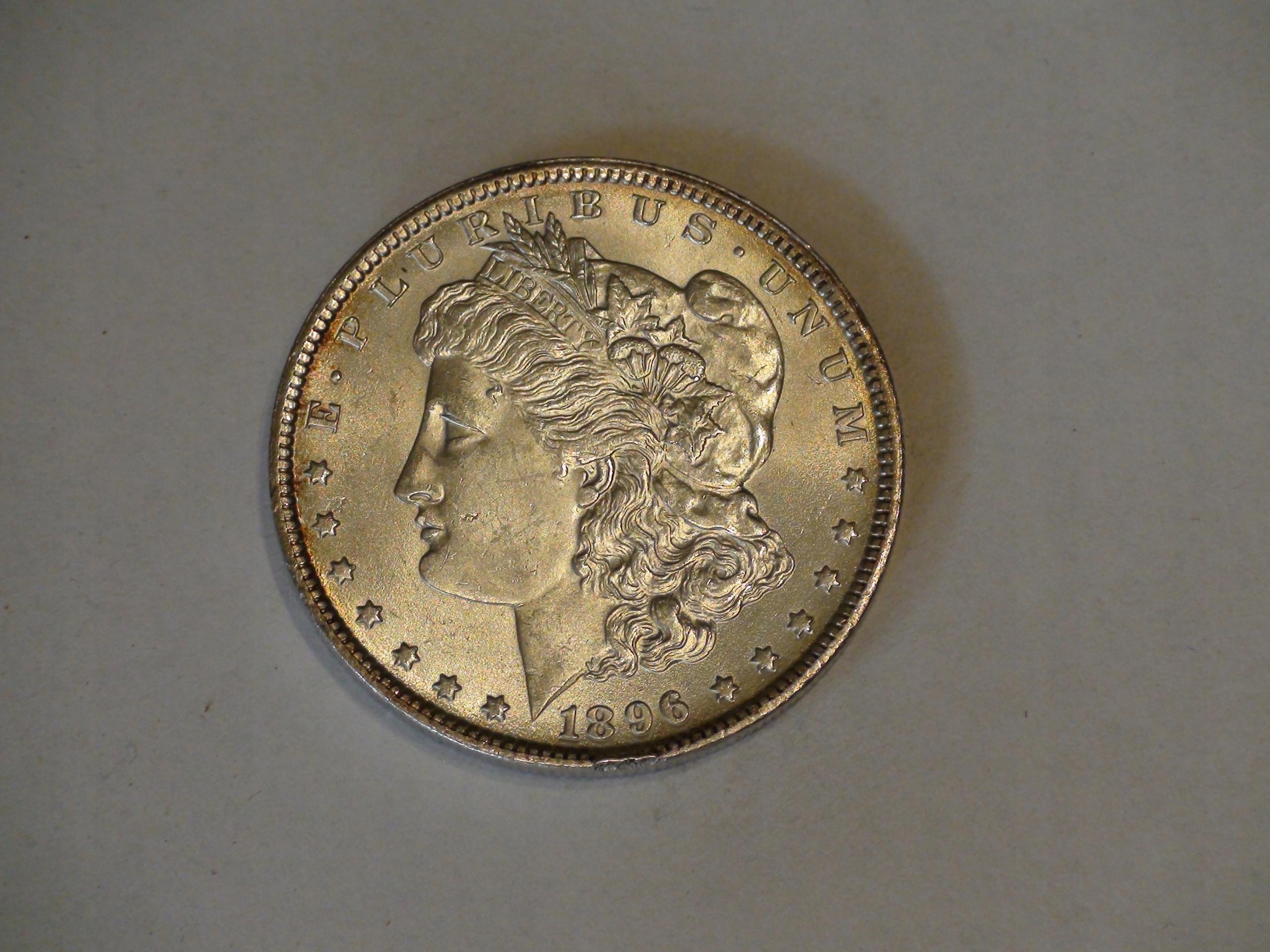 One Dollar Morgan 1896