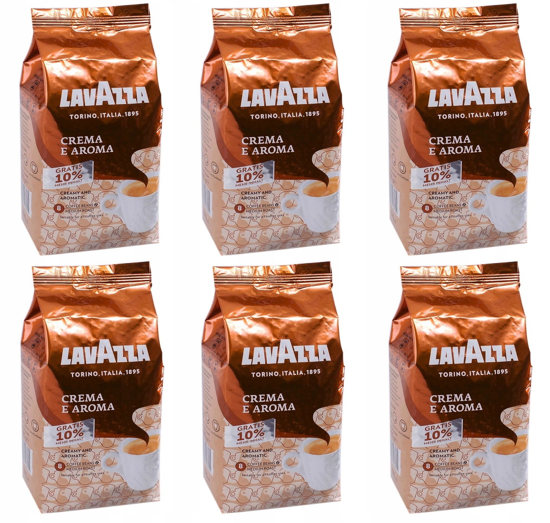 Kawa ziarnista Lavazza Crema Aroma 6 kg +600 g