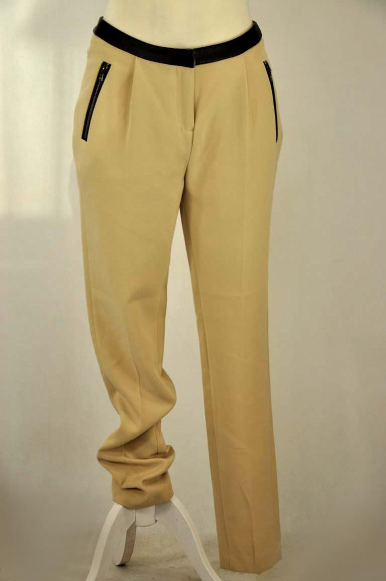 Eleganckie spodnie ecru RESERVED S 7118682606 oficjalne