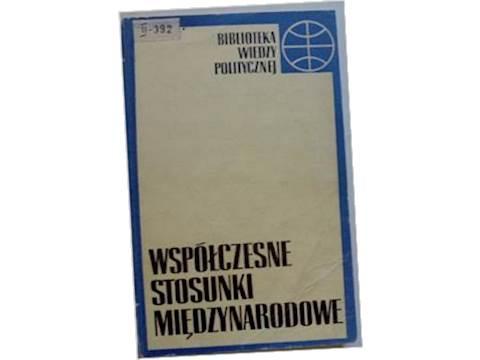 Współczesne stosunki międzynarodowe - 1970 24h wys