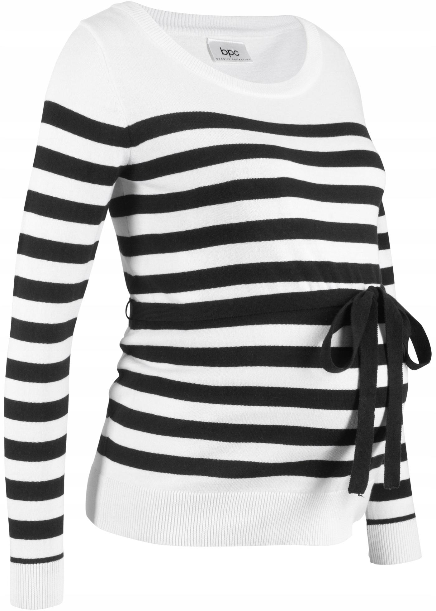 ZH37 BPC Sweter ciążowy bawełniany r.44/46