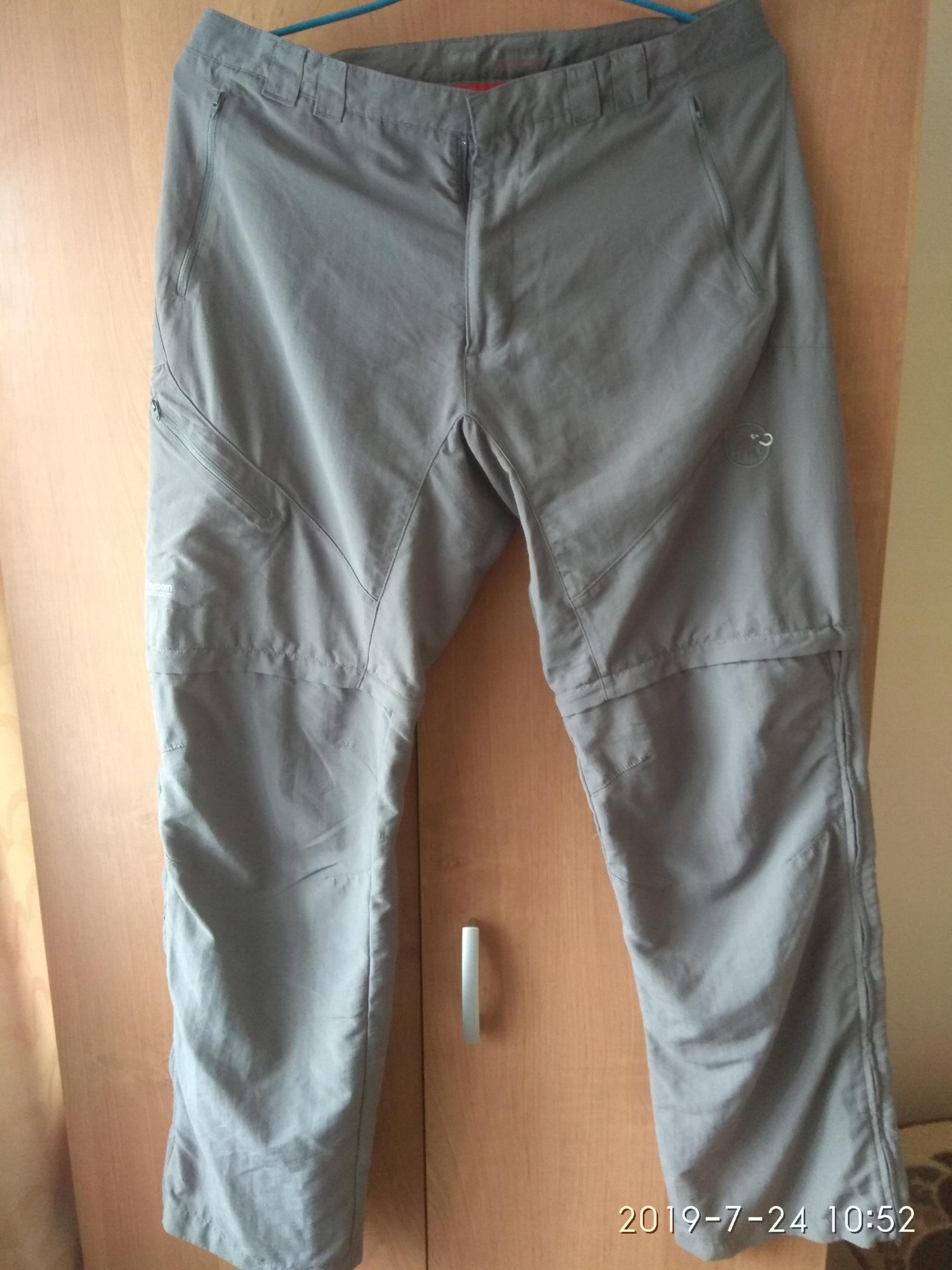 Super spodnie trekkingowe Mammut mountain zip-of