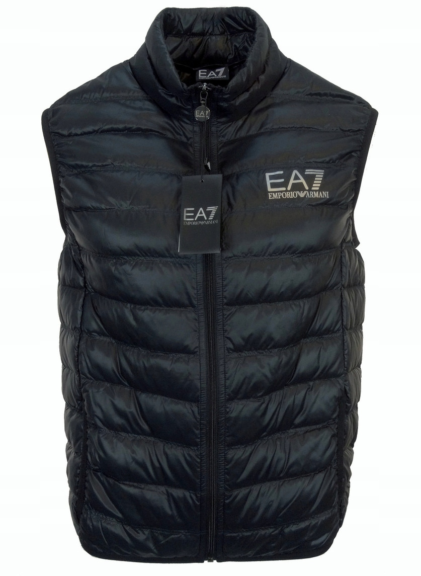 EA7 EMPORIO ARMANI bezrękawnik męski, czarny XL