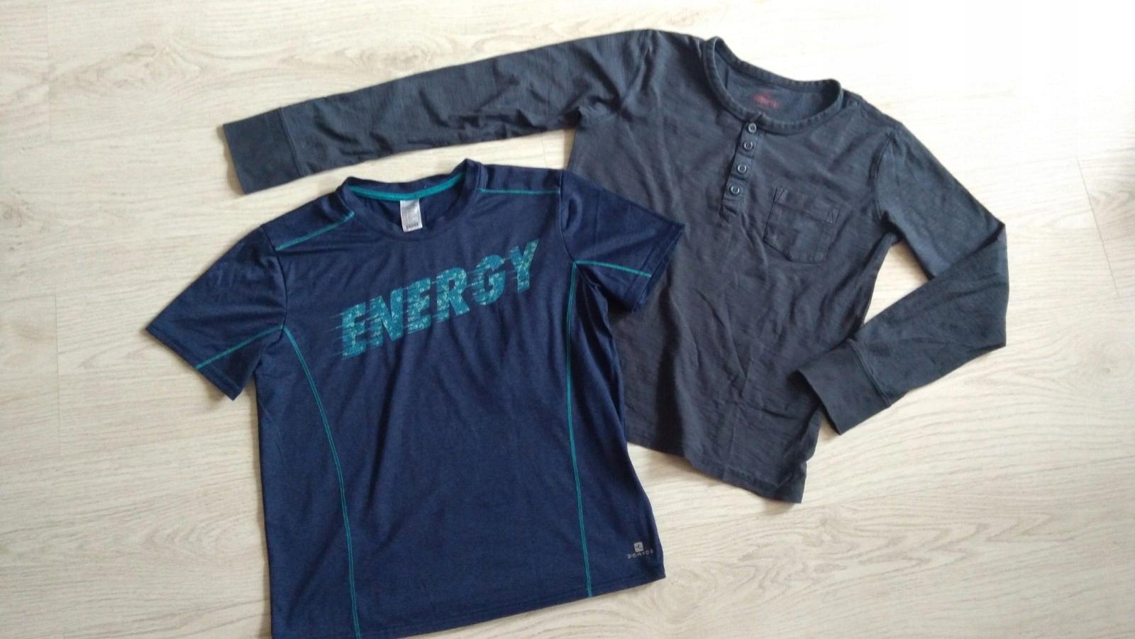 Zestaw ubrań chłopiec 152-164 cm 4 szt. jeansy