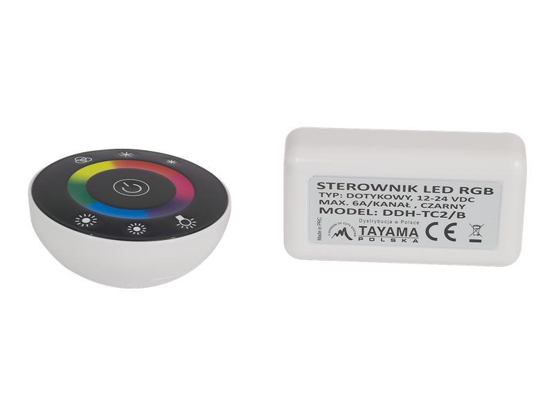 STEROWNIK KONTROLER DOTYK RF RADIODO TAŚMA LED RGB