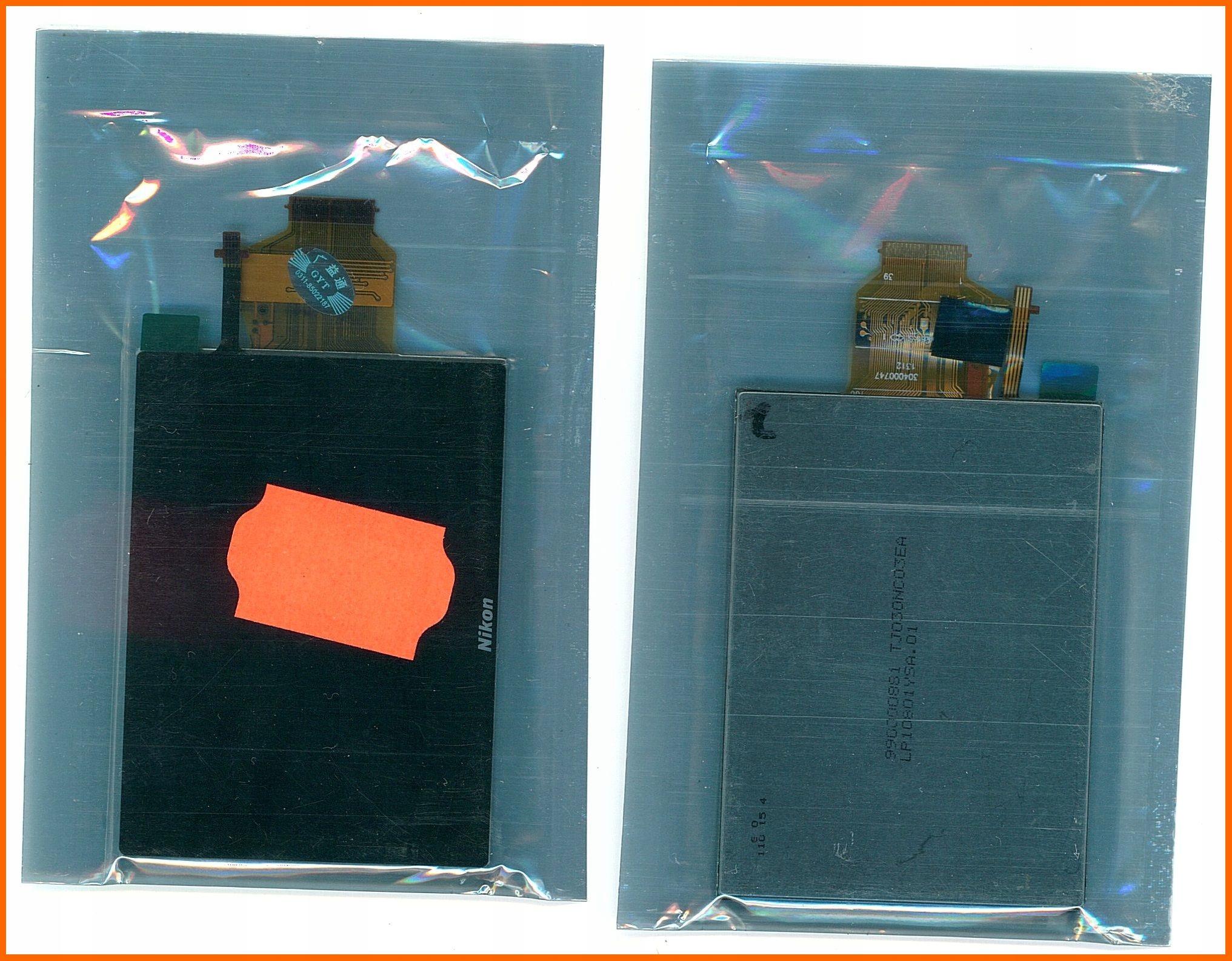 LCD Nikon S4300 S4400 S4200 dotyk + podświetlanie