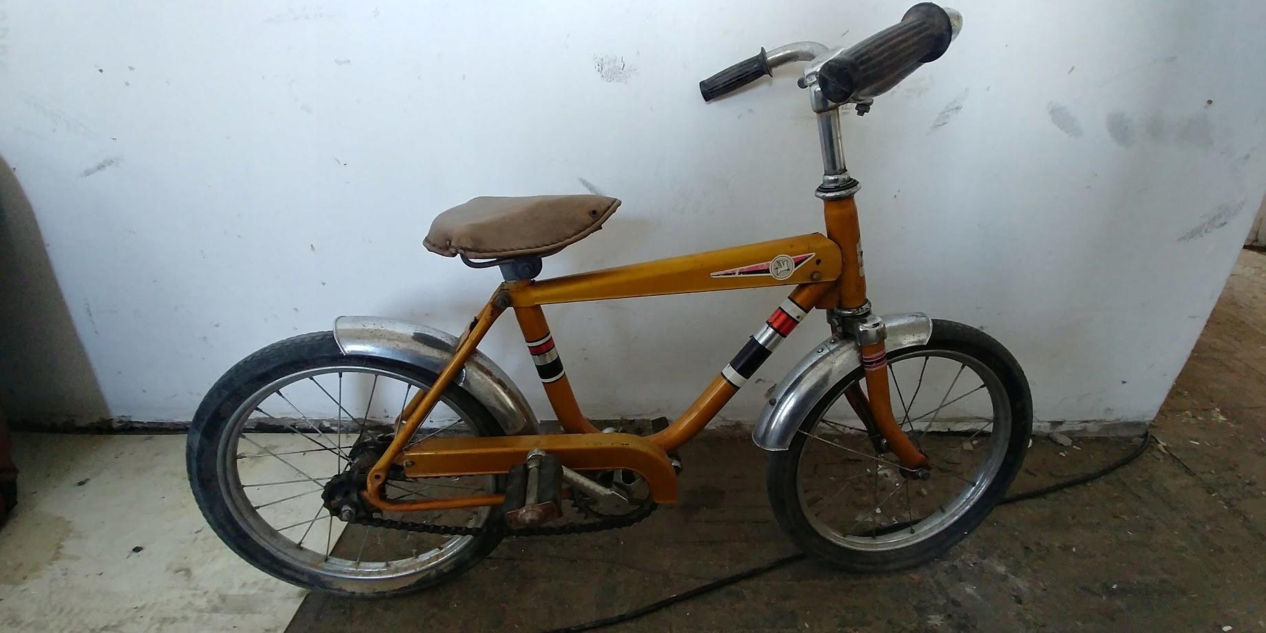 Złoty Rower Dziecięcy Romet Tyler PRL ZZR Unikat