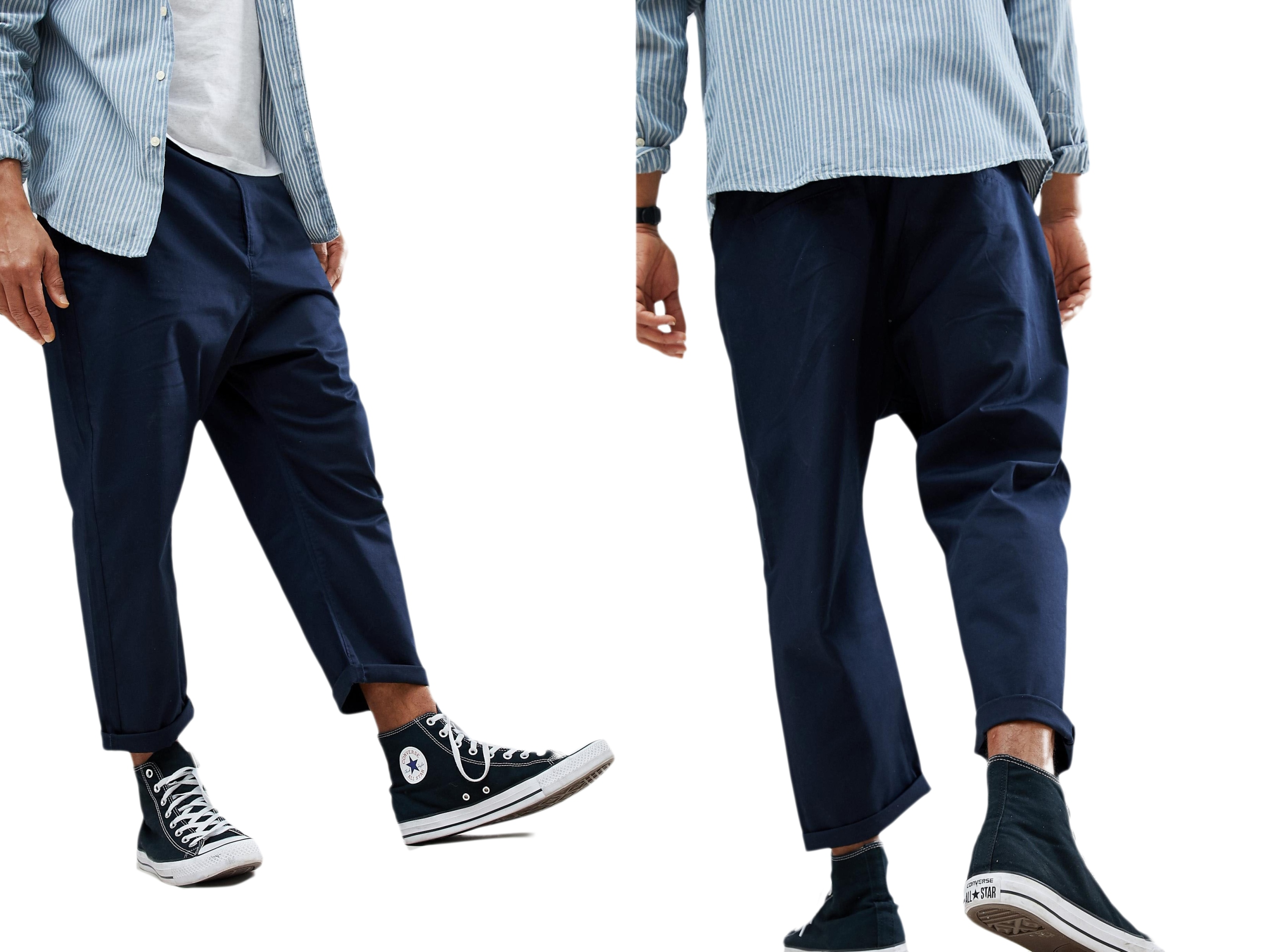 Design-Oversize Spodnie Chinosy W31 L30