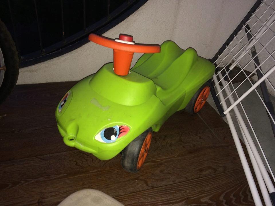 jezdzik zielony
