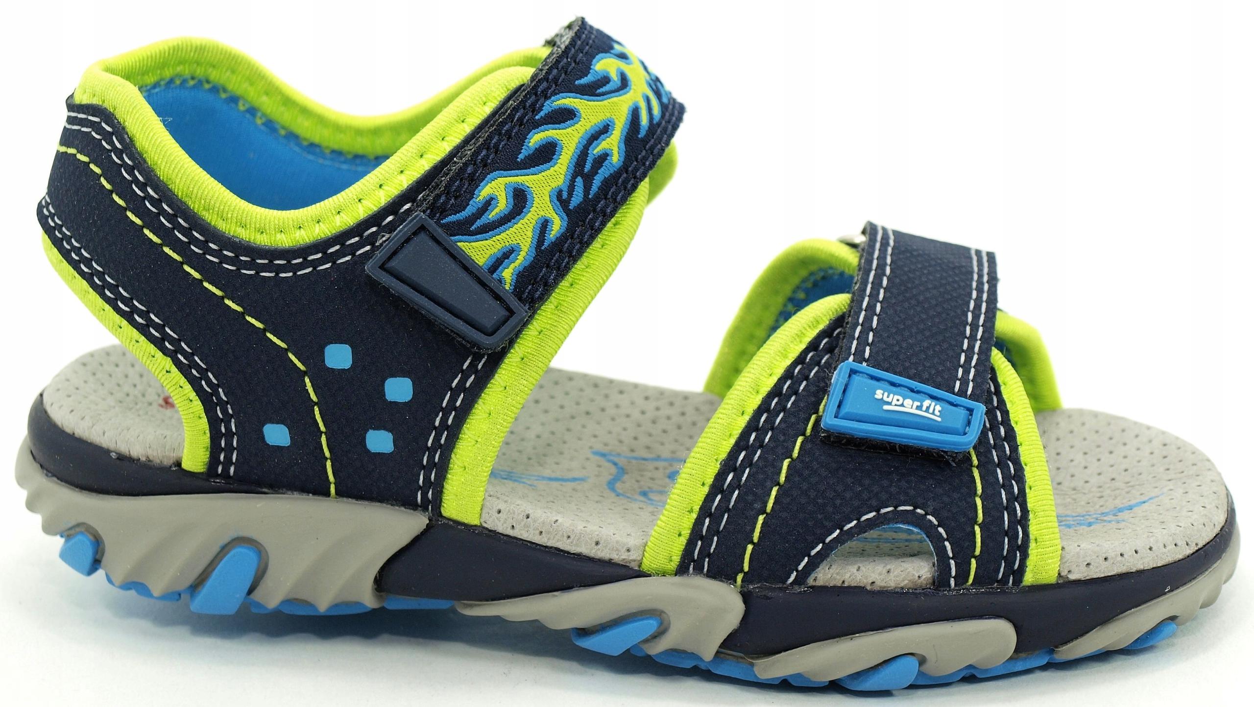 27 SUPERFIT 173-80 sandały sandałki 17,4 cm