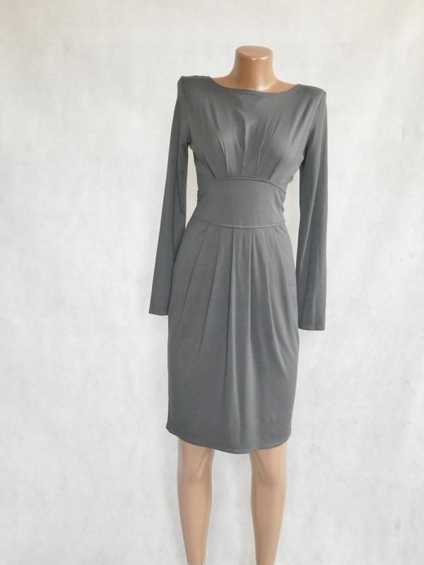 Sukienka grafit szara 36 S