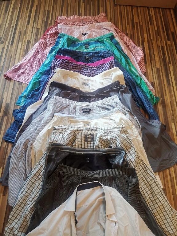 MEGA PAKA męskie L / XL zestaw ubrań Armani, Klein