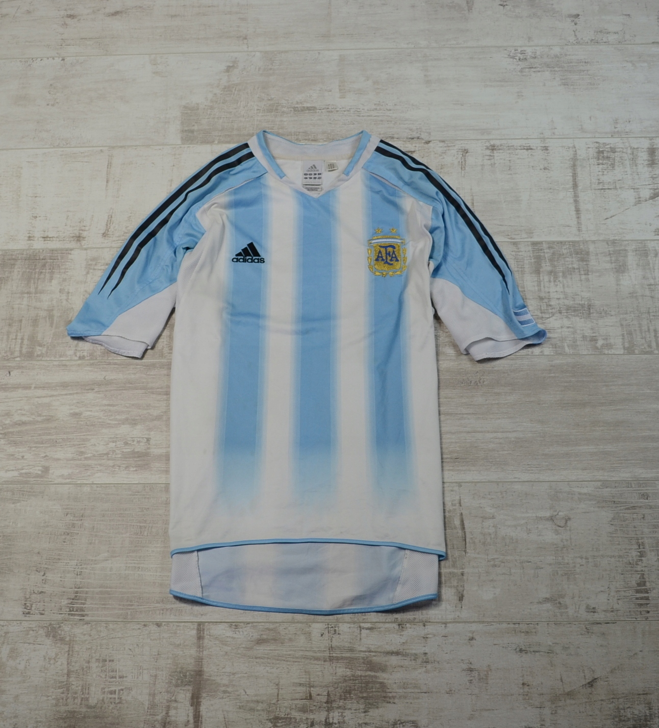 ADIDAS ARGENTYNA 2004 FOOTBALL JERSEY L