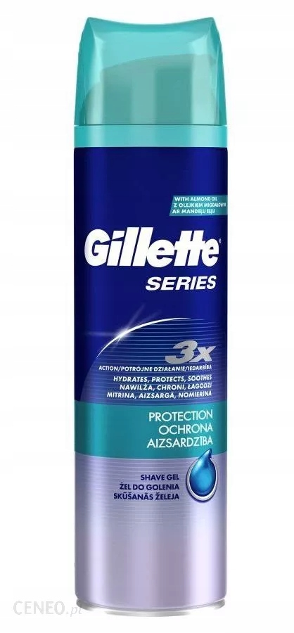 GILLETTE ŻEL DO GOLENIA SERIES PROTECT 200ML