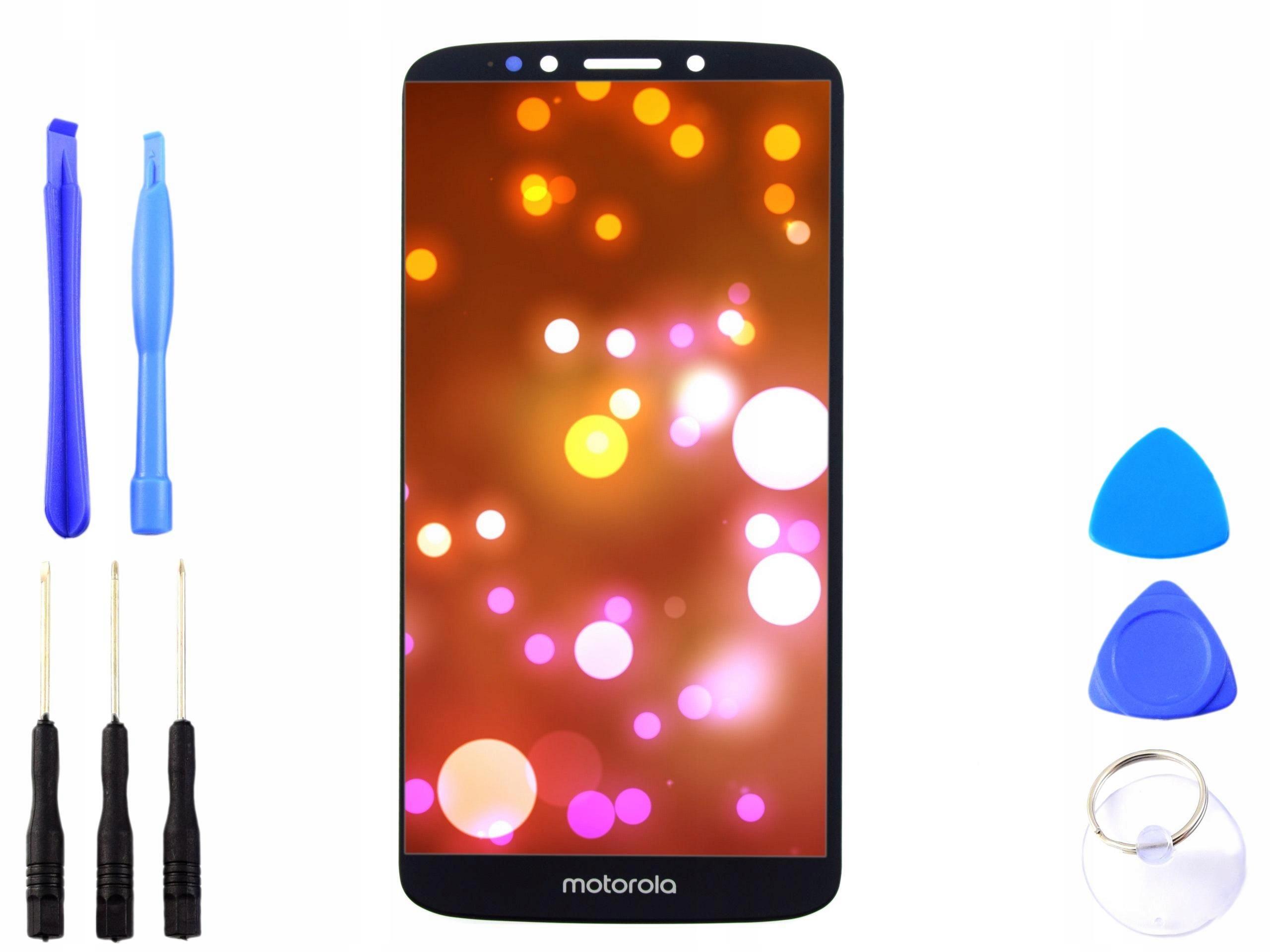 Wyświetlacz LCD dotyk Motorola MOTO E5 PLUS czarny