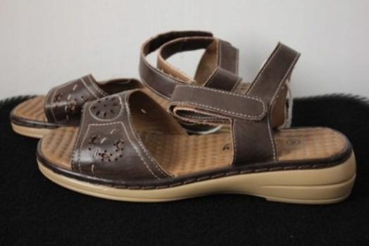 Buty damskie sandały ogrodowe Vivality 38!