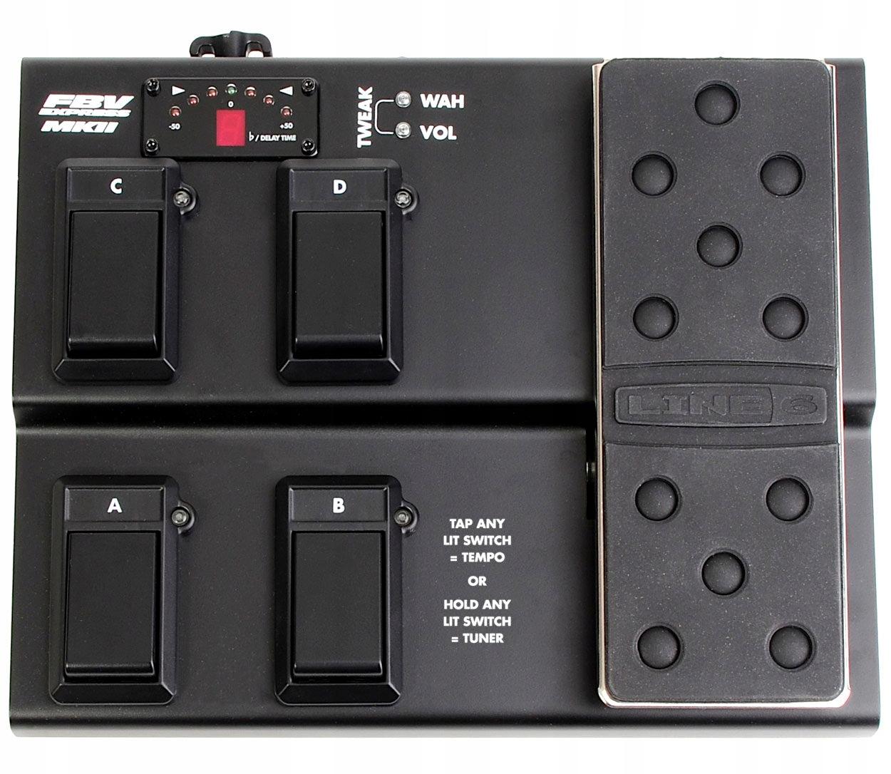 LINE6 FBV EXPRESS II kontroler STEROWNIK NOŻNY USB