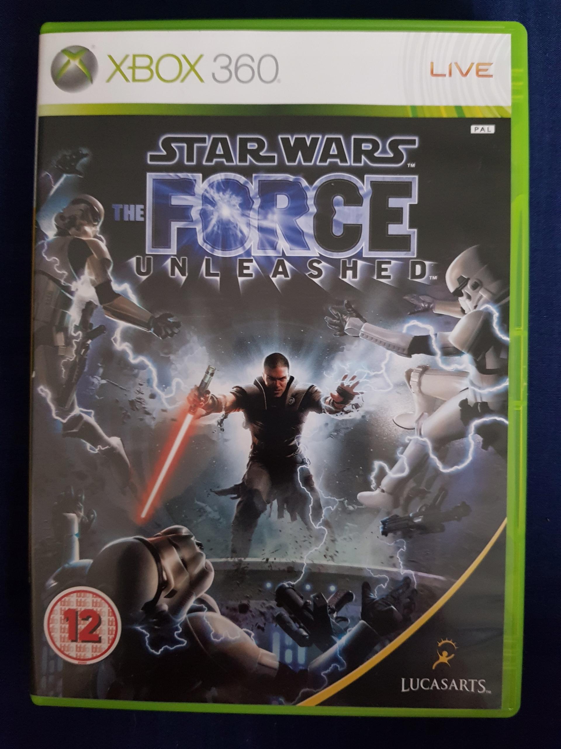 STAR WARS:THE FORCE XBOX 360 LICYTACJA