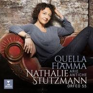 CD Stutzmann, Nathalie - Quella Fiamma - Arie Anti