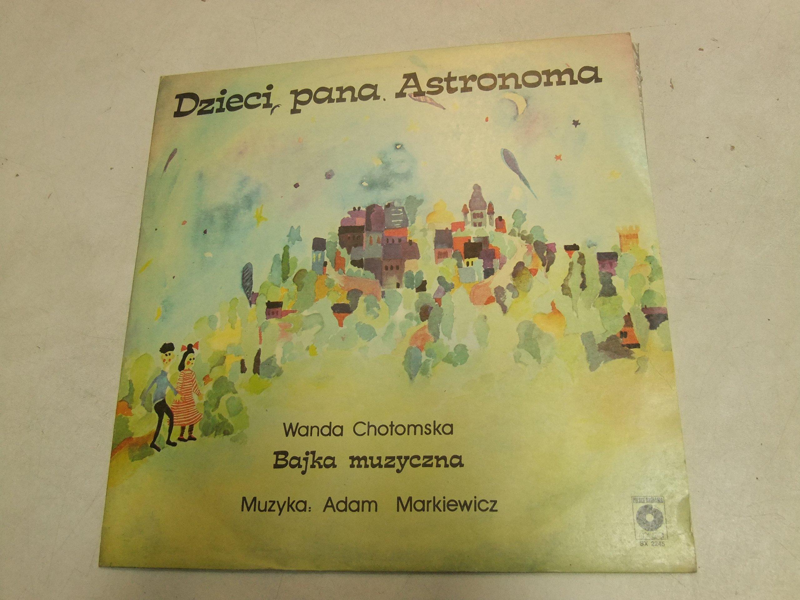 Lp Wanda Chotomska Dzieci Pana Astronoma H3 7037098207