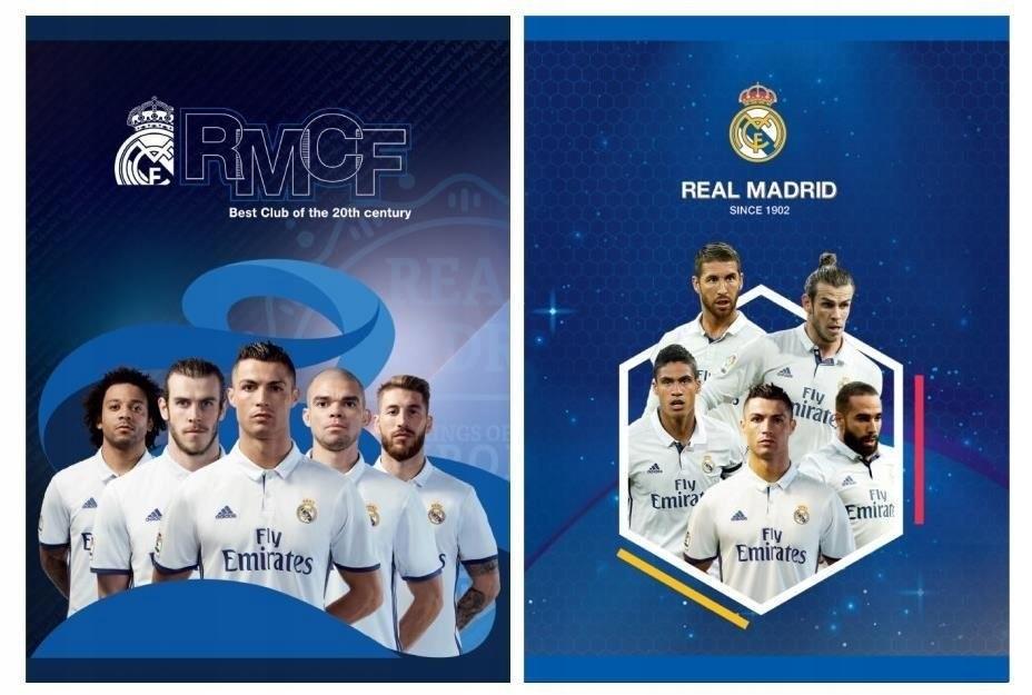 Zeszyt A5/32K kratka Real Madrid 3 (10szt) ASTRA
