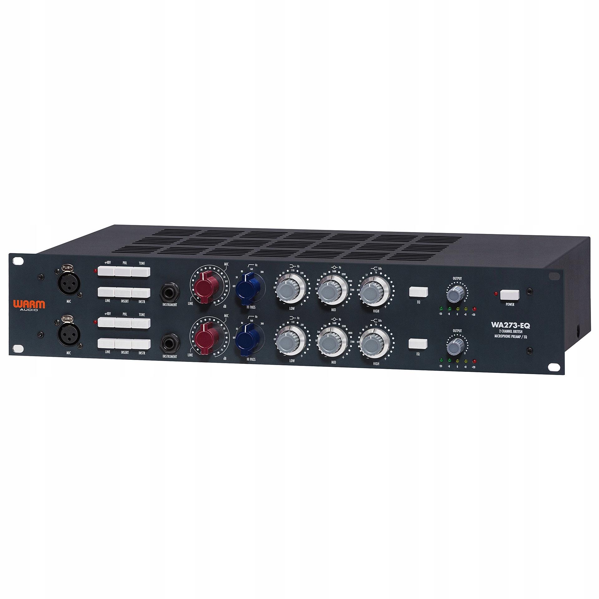 WARM AUDIO WA273-EQ: Preamp mikrofonowy + słuchawk