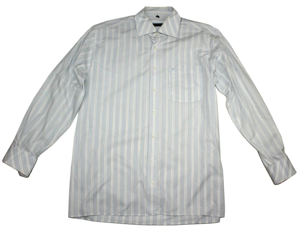 1803J15 PIERRE CARDIN koszula męska paski L