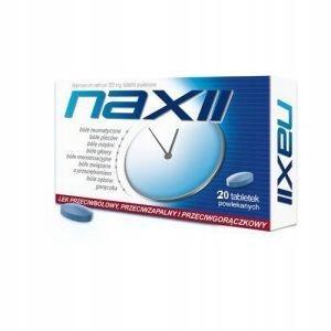 NAXII 20 tabletek