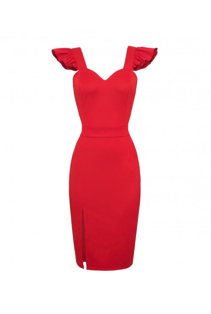 1a5e3ac9 Sukienka nowa, czerwona, rozmiar M, Impress Me - 7447072824 ...