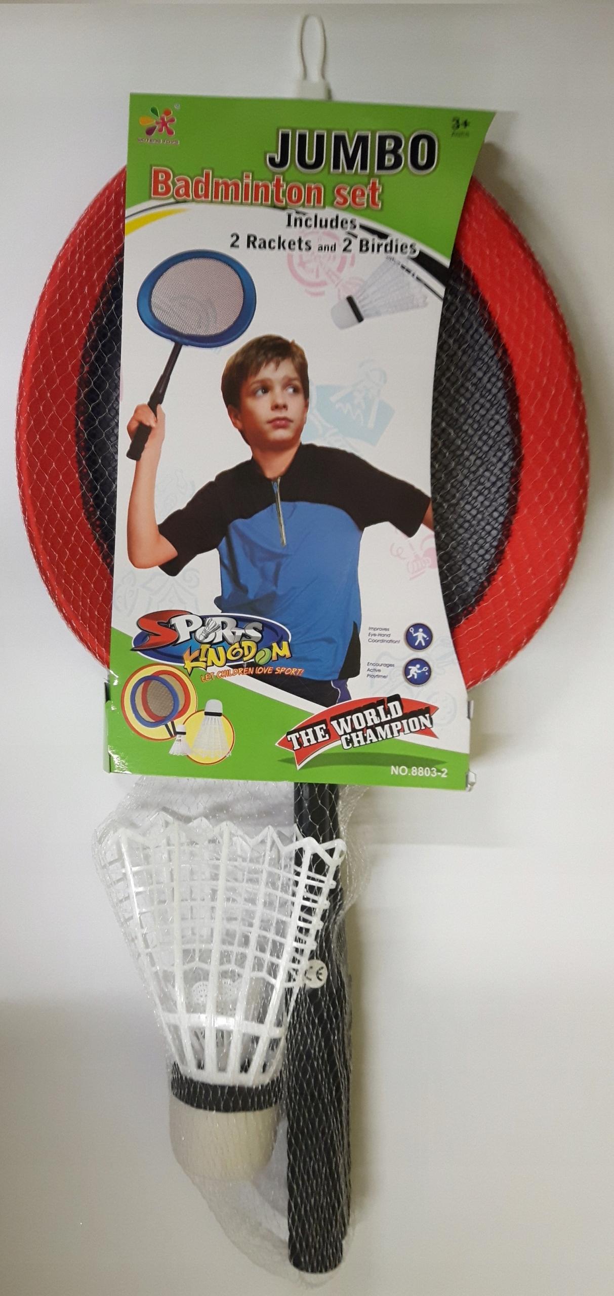 mega Zestaw do Badmintona 2 Rakietki i 2 Lotki
