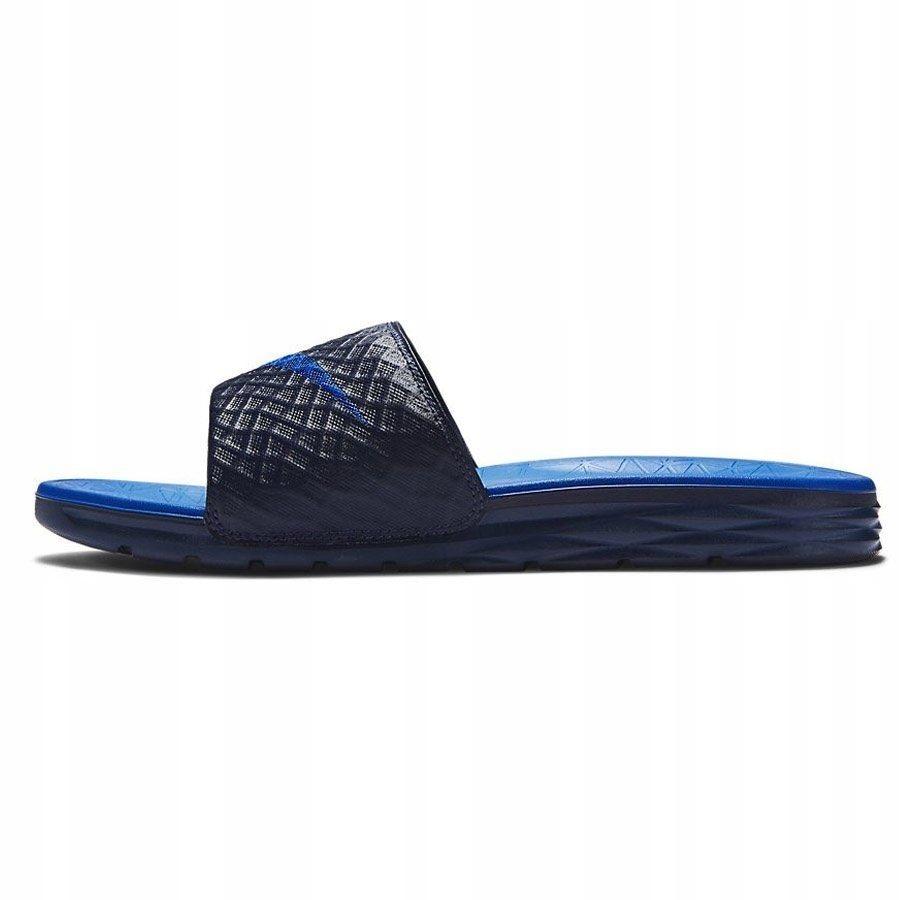 Klapki Damskie Nike Benassi Solarsoft granat 41