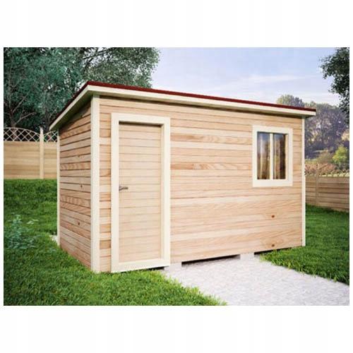 Domek Narzędziowy Drewutnia Drewniana Szopa 7875140754