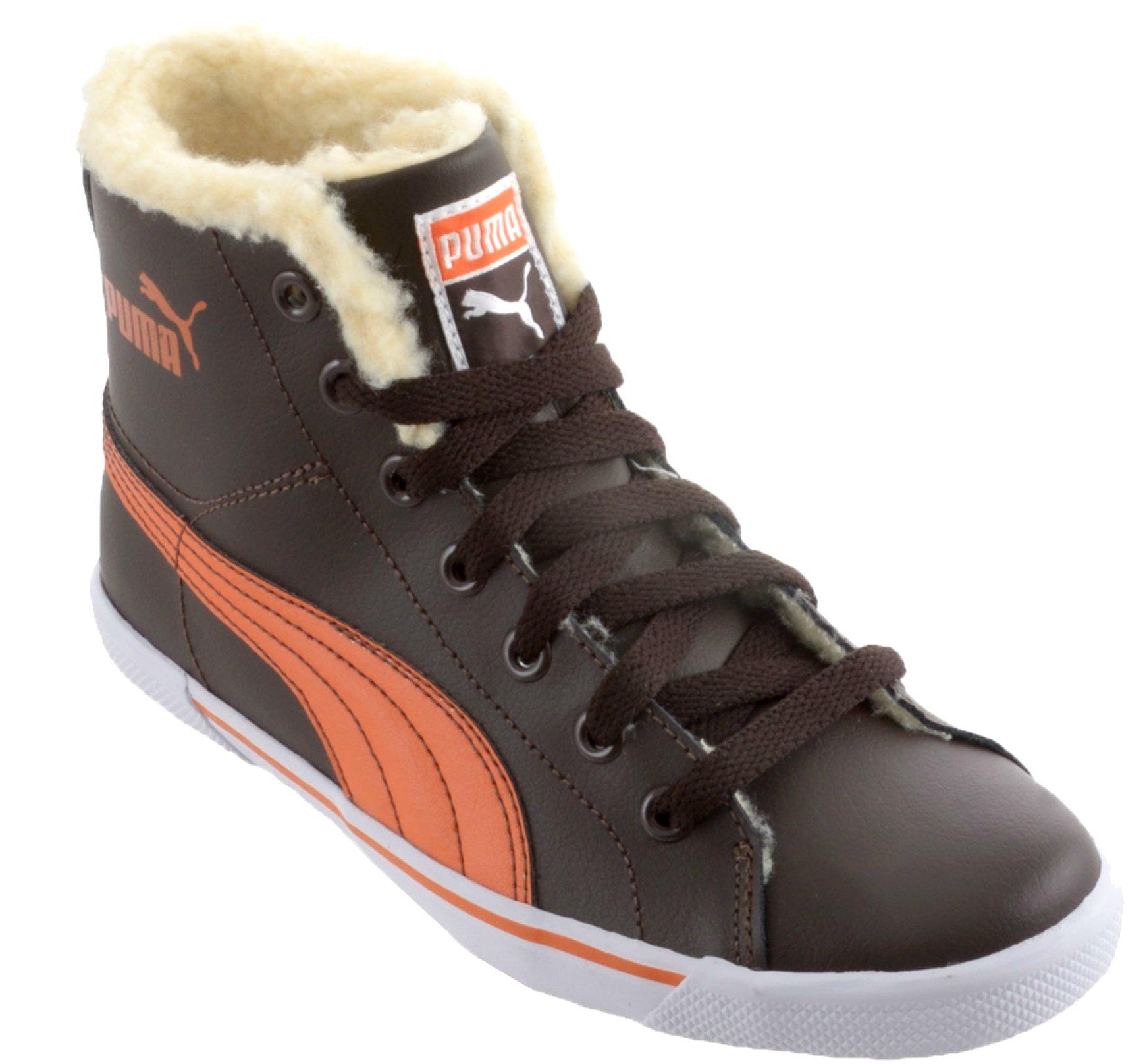 PUMA benecio mid zimowe buty ocieplane skora 34,5