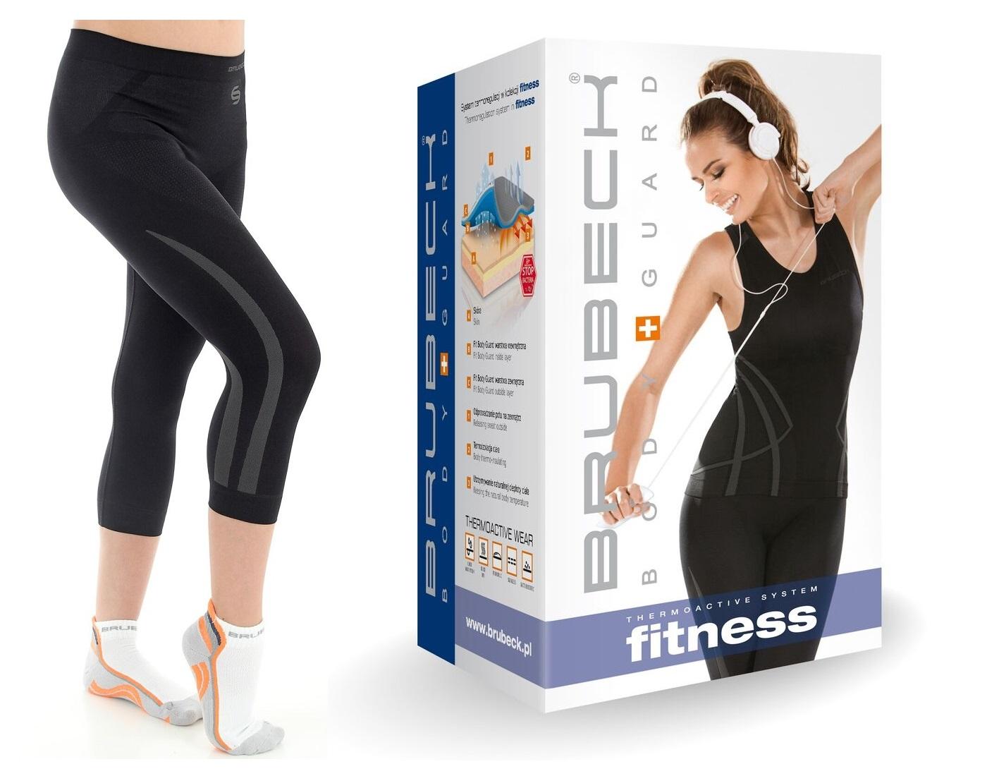 L- Brubeck Swift damskie spodenki 3/4 do fitnessu