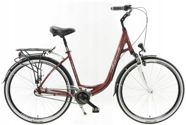 Rower miejski Kands Soprano D17 Brązowy 3 Nexus !!