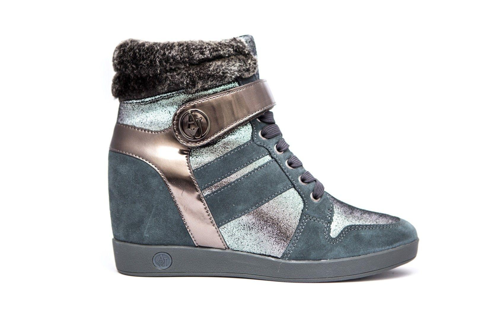 ee9b597941132 Armani Jeans Buty D. Sneaker Antracite 39 - 6956426889 - oficjalne ...