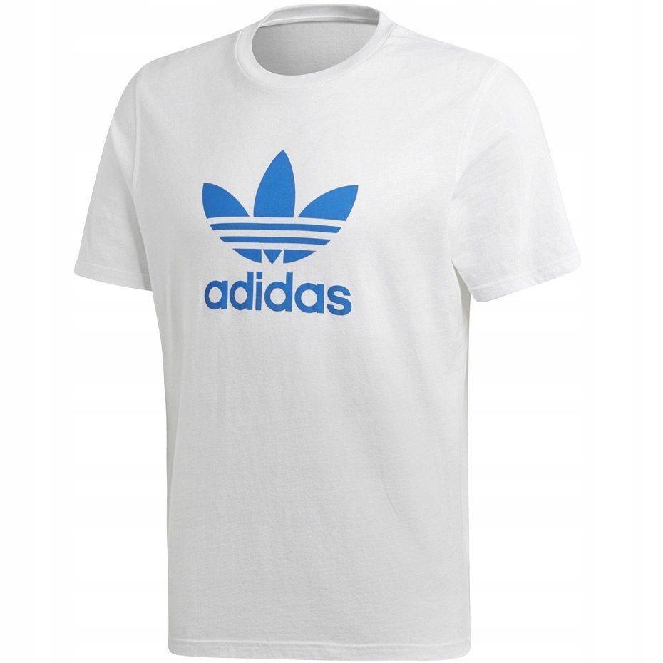 5a6f498845fa06 M1. Koszulka męska adidas Trefoil T-Shirt biała DH - 7784501159 ...