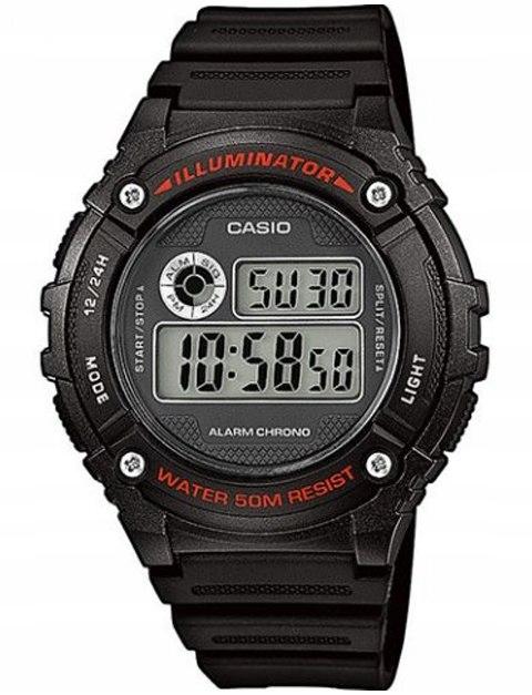 Zegarek CASIO Wielofunkcyjny W-216H -1A