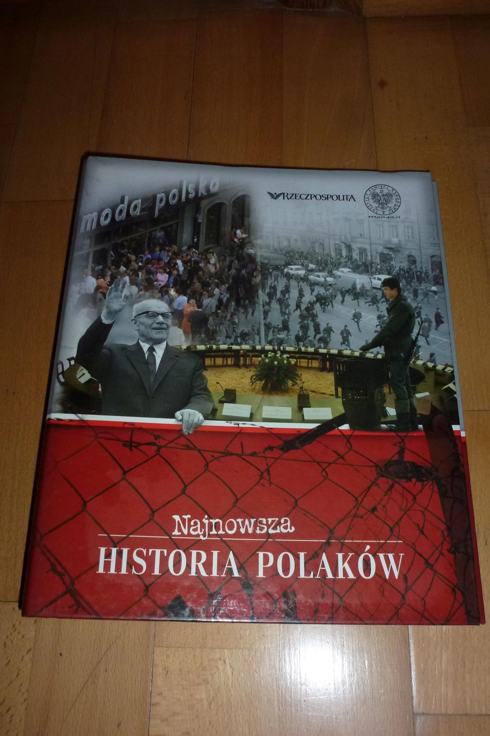 Najnowsza historia polaków nr 1-18/2007 + symbole