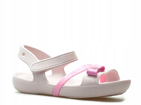 Sandałki Crocs 205530/6PL Różowe_25-26