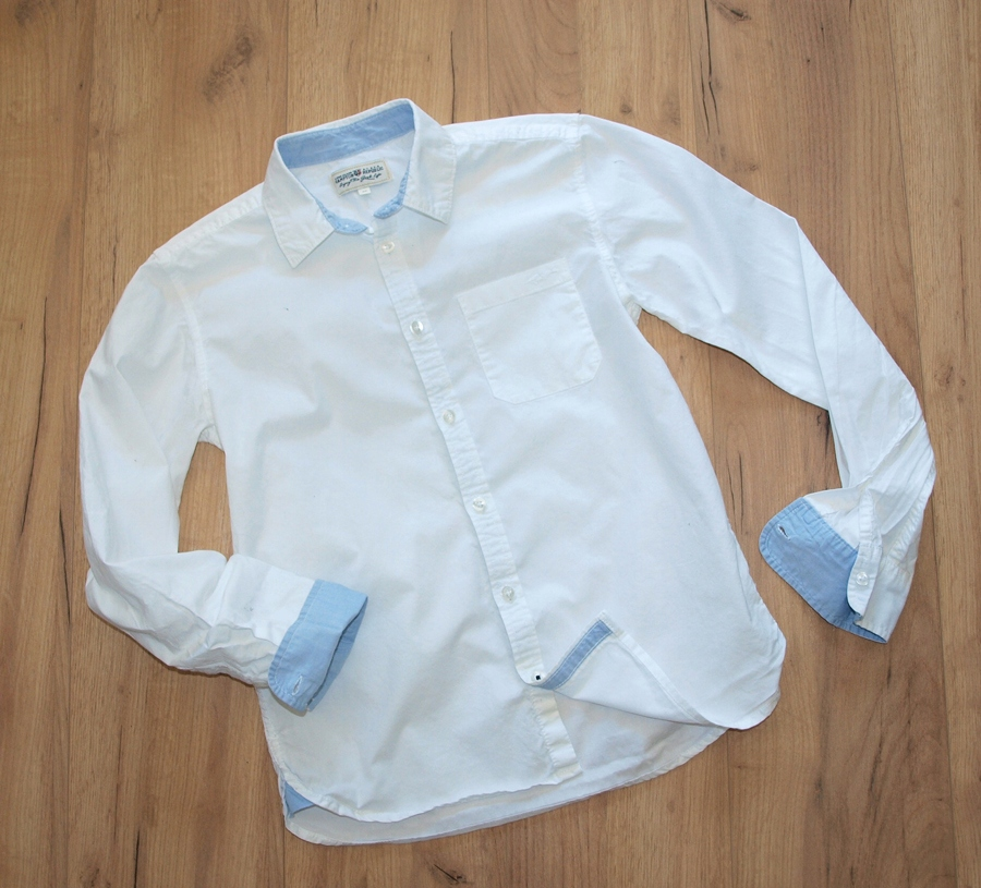 KappAHl HAMPTON biała koszula EXTRA 164