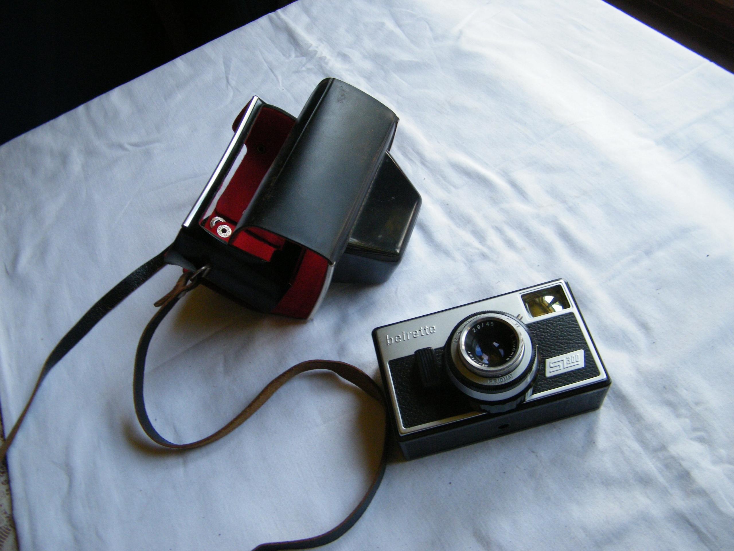 Stary aparat Beirette