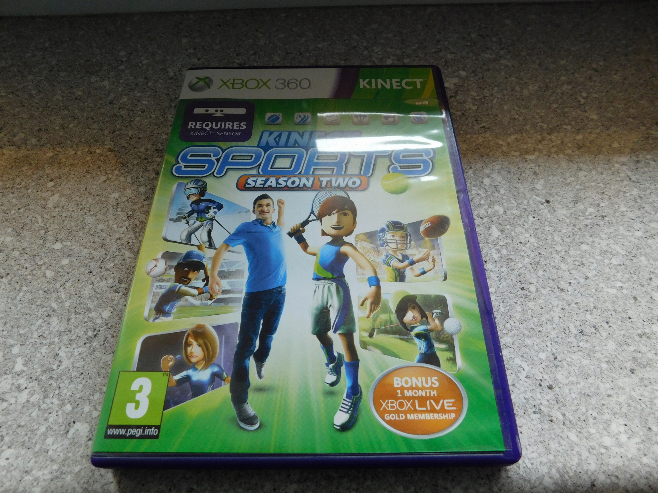 Kinect Sports Season Two 2 Gra na Xbox 360 ENG