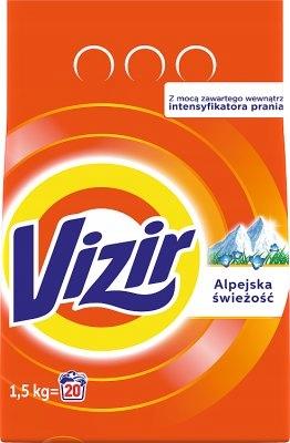 Vizir Alpine Fresh proszek do prania 1,5kg do biał