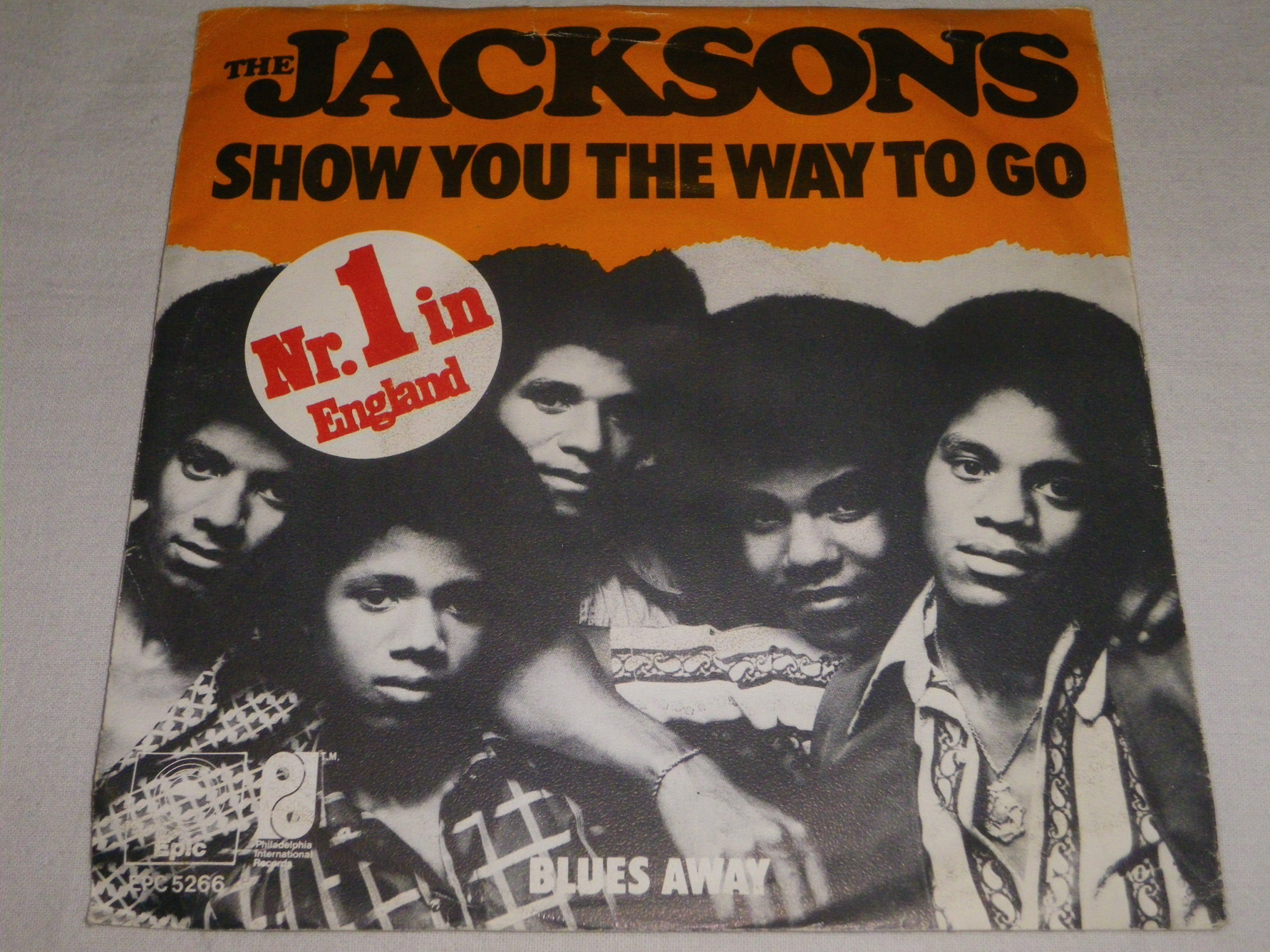 The Jacksons- Show You the Way To Go SP 7''