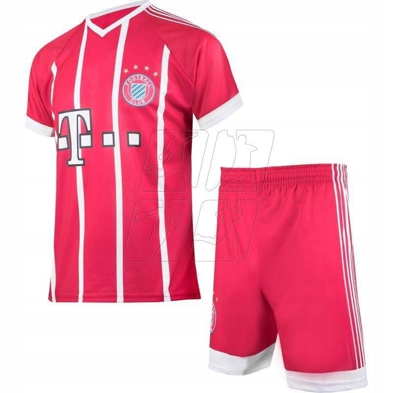 Strój Reda Bayern Monachium Lewandowski roz 140 ...